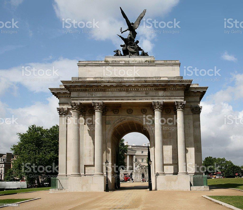 London, War Monuments stock photo