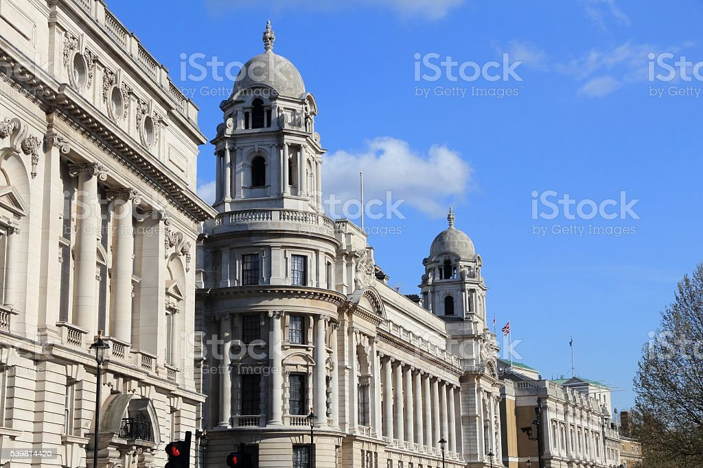 London - Whitehall stock photo