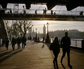 London Winter Sun