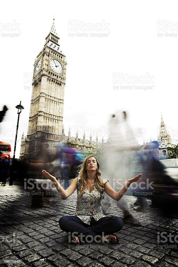 London Zen royalty-free stock photo
