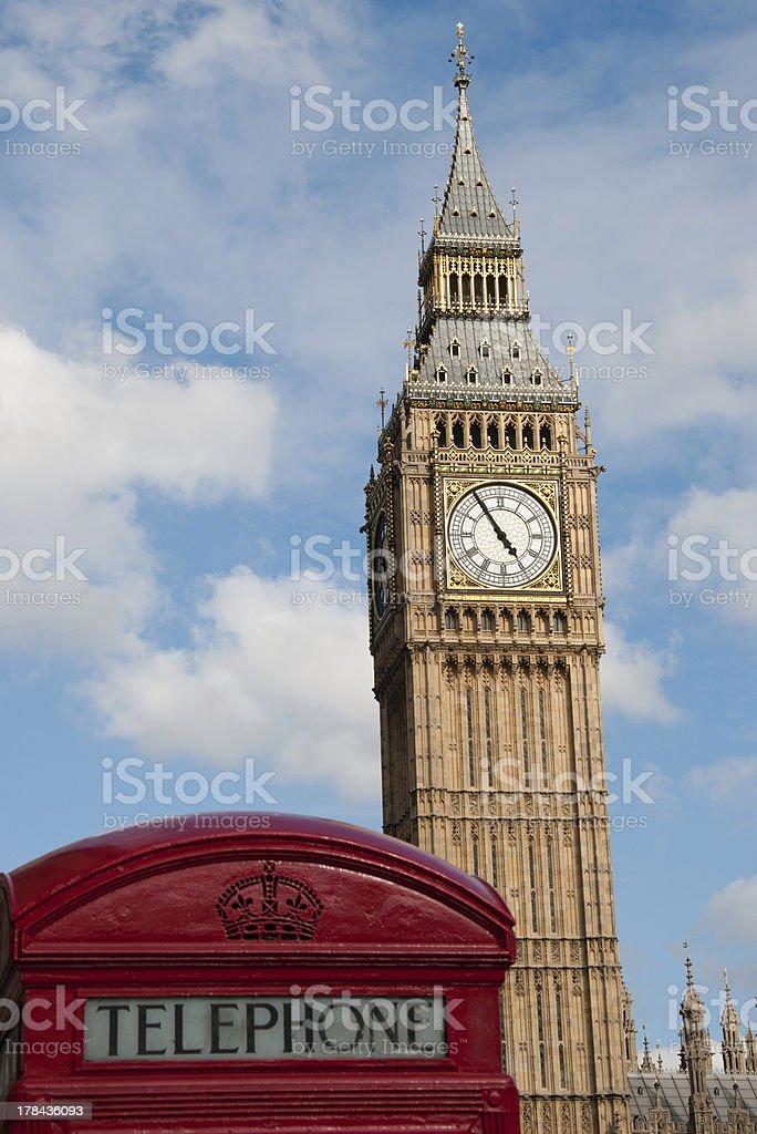 London-Big Ben royalty-free stock photo