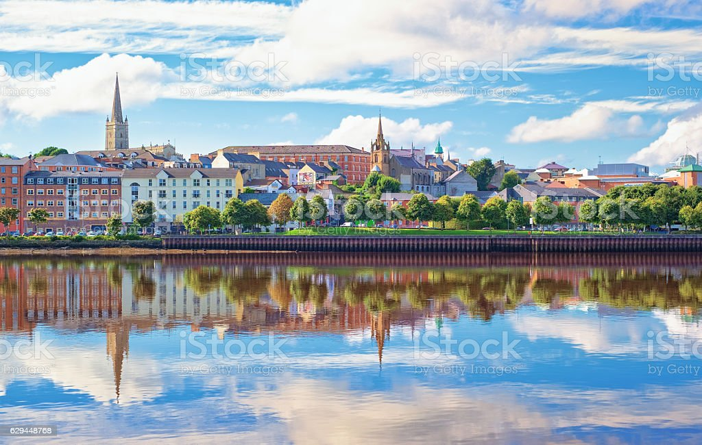 Londonderry, Northern Ireland stock photo