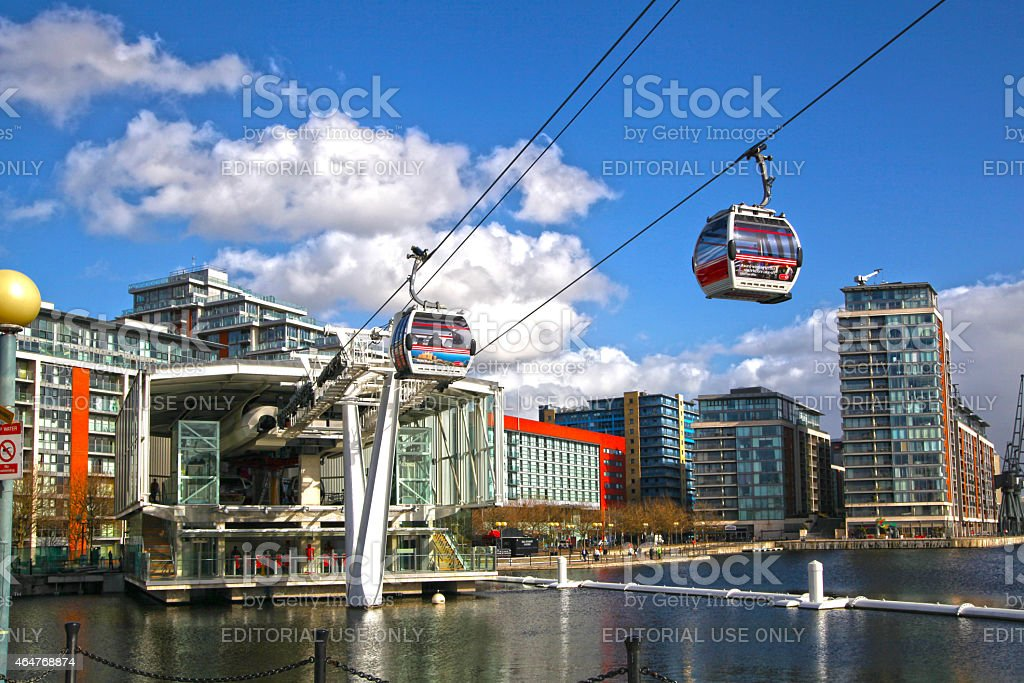 London's Cable car stock photo