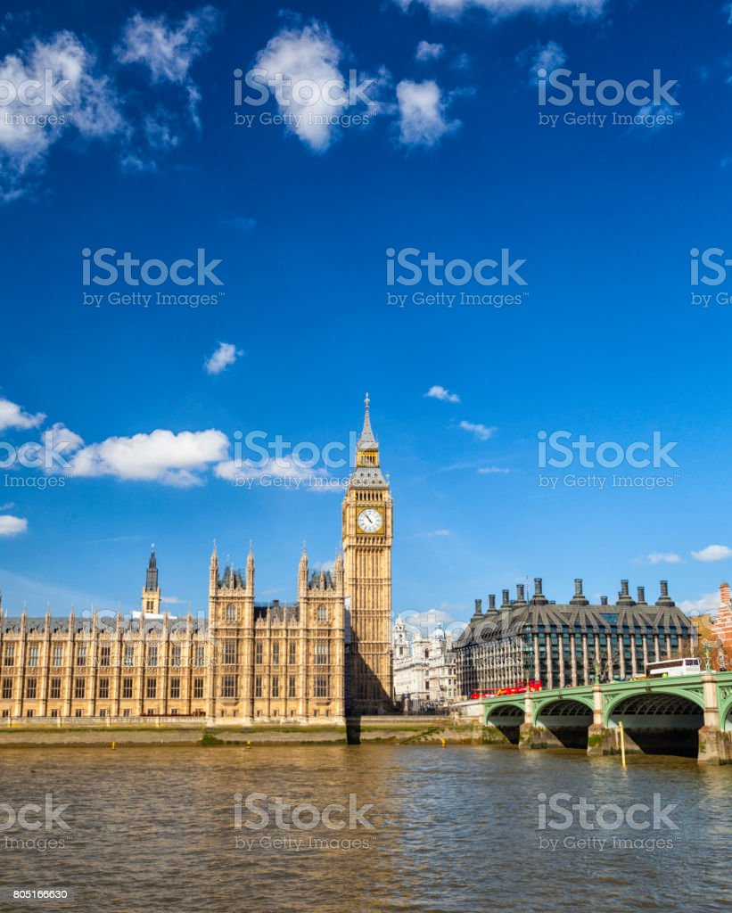 London's Houses Of Parliament stock photo