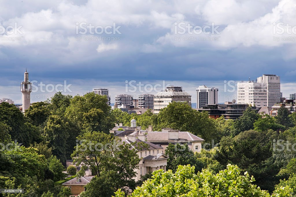 London's Skyline stock photo