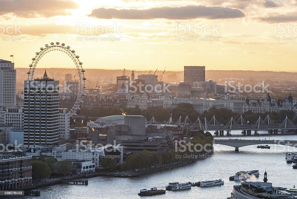 London's Southbank stock photo