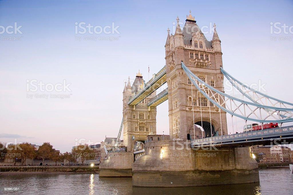 London's Tower Bridge royalty-free stock photo