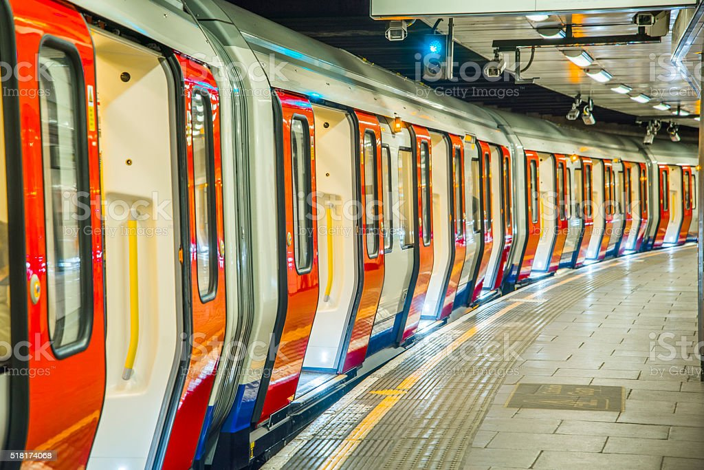 London's Underground stock photo