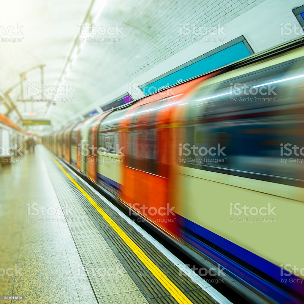 London's Underground stock photo