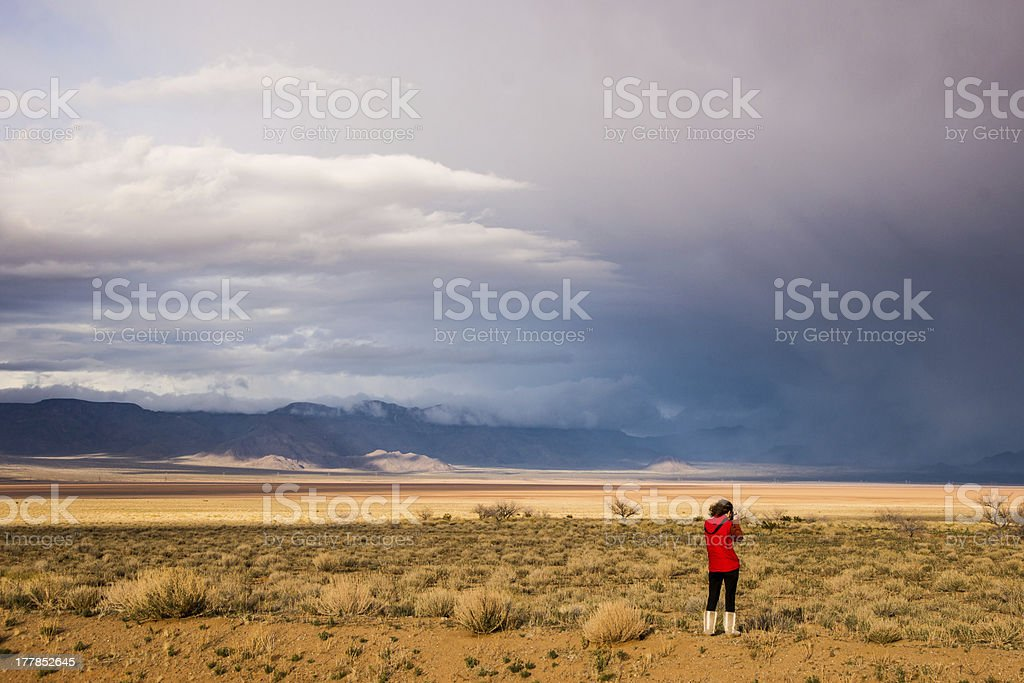 Lone Photographer royalty-free stock photo