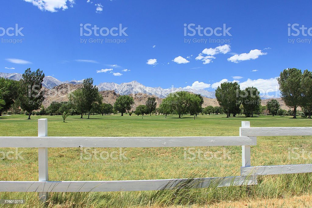 Lone Pine, CA stock photo
