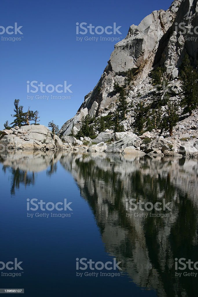 Lone Pine Lake royalty-free stock photo