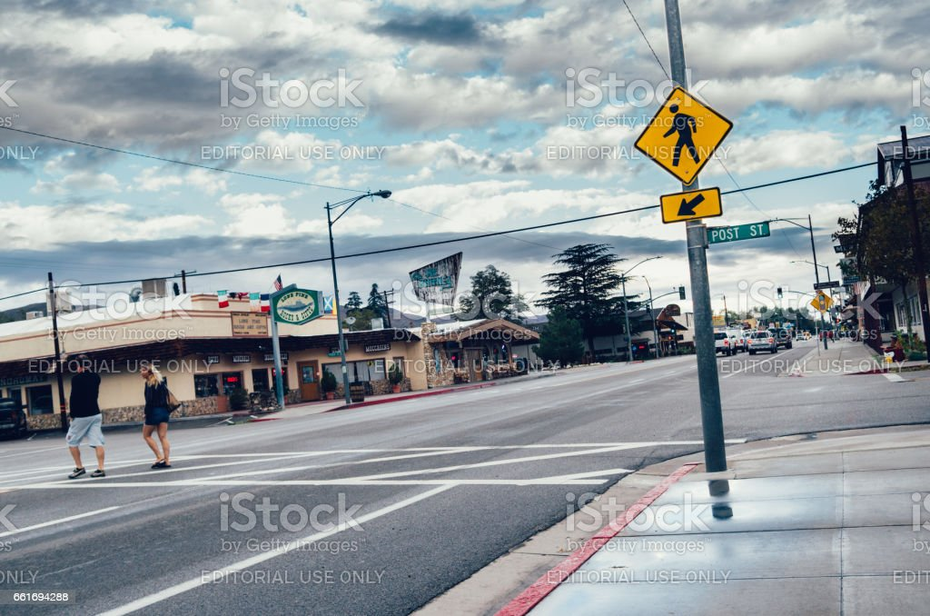 Lone Pine, Owens Valley, California, USA stock photo