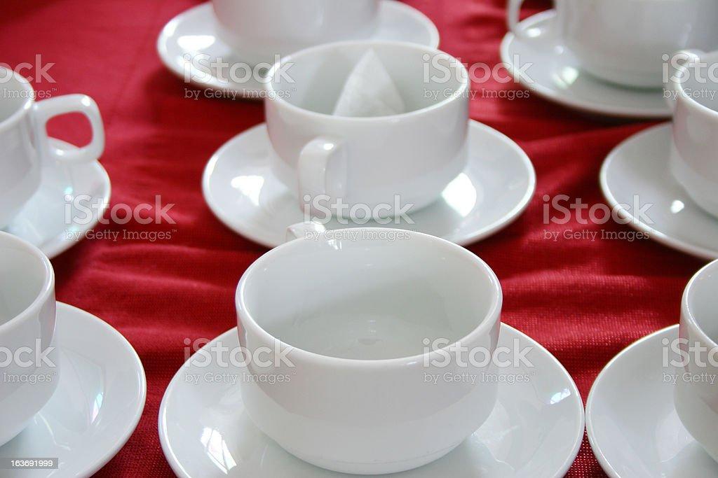 Lone tea bag royalty-free stock photo