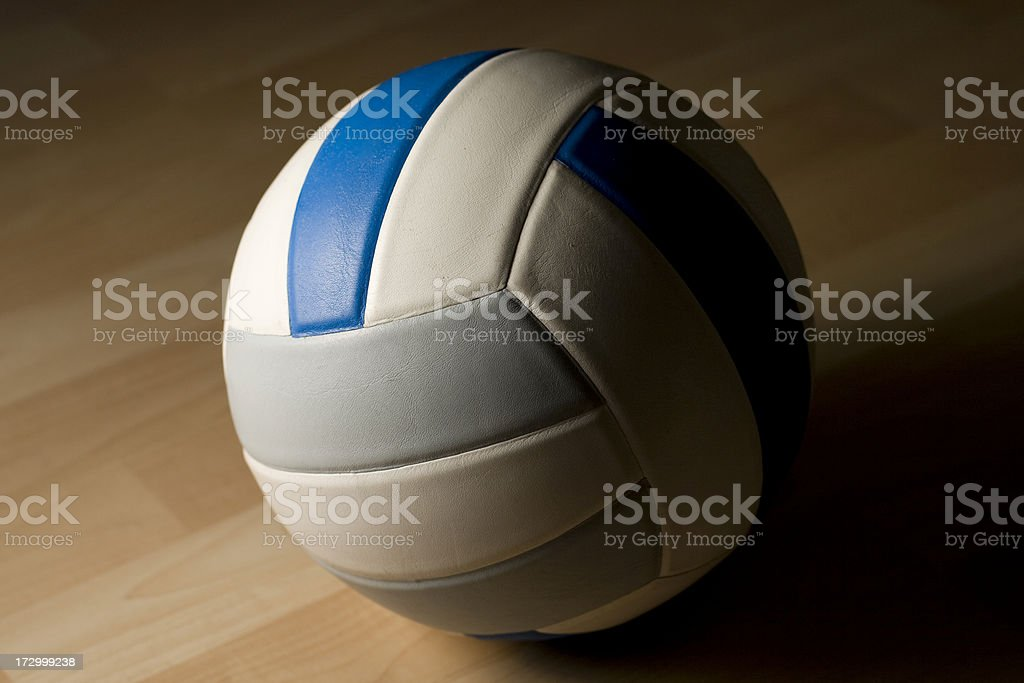 Lone Volleyball royalty-free stock photo