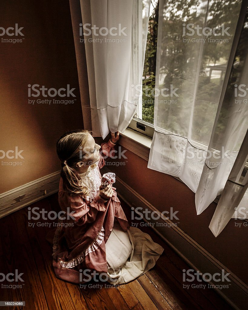 Loneliness royalty-free stock photo