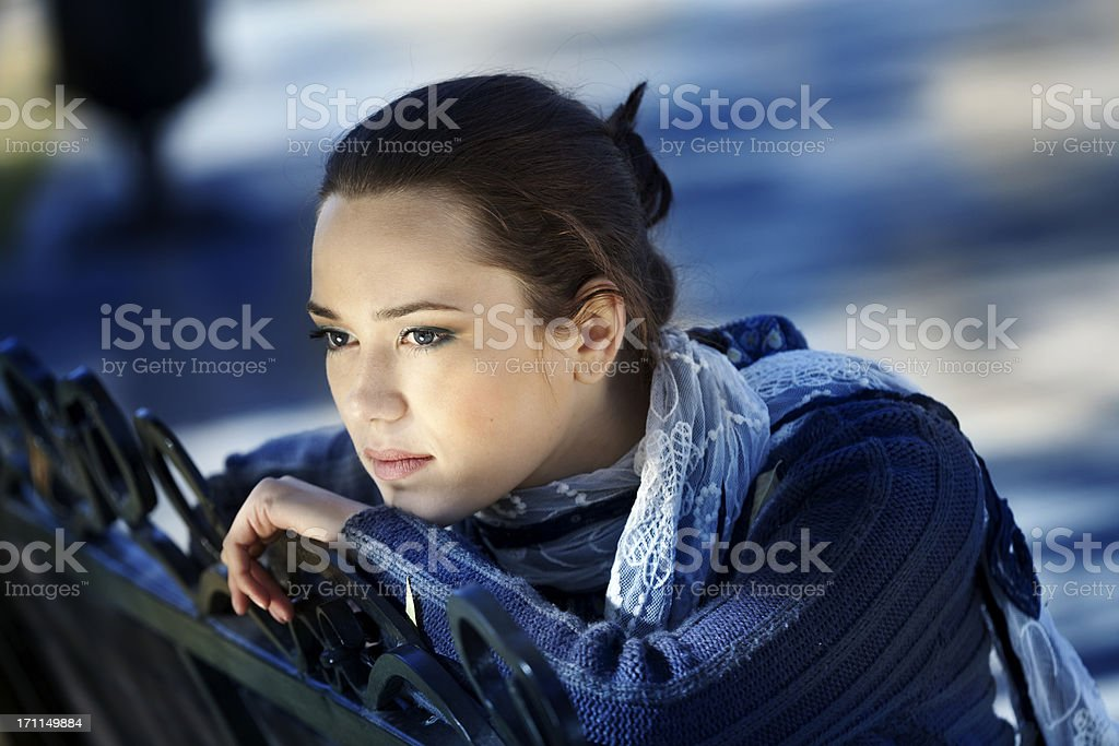 Loneliness. royalty-free stock photo