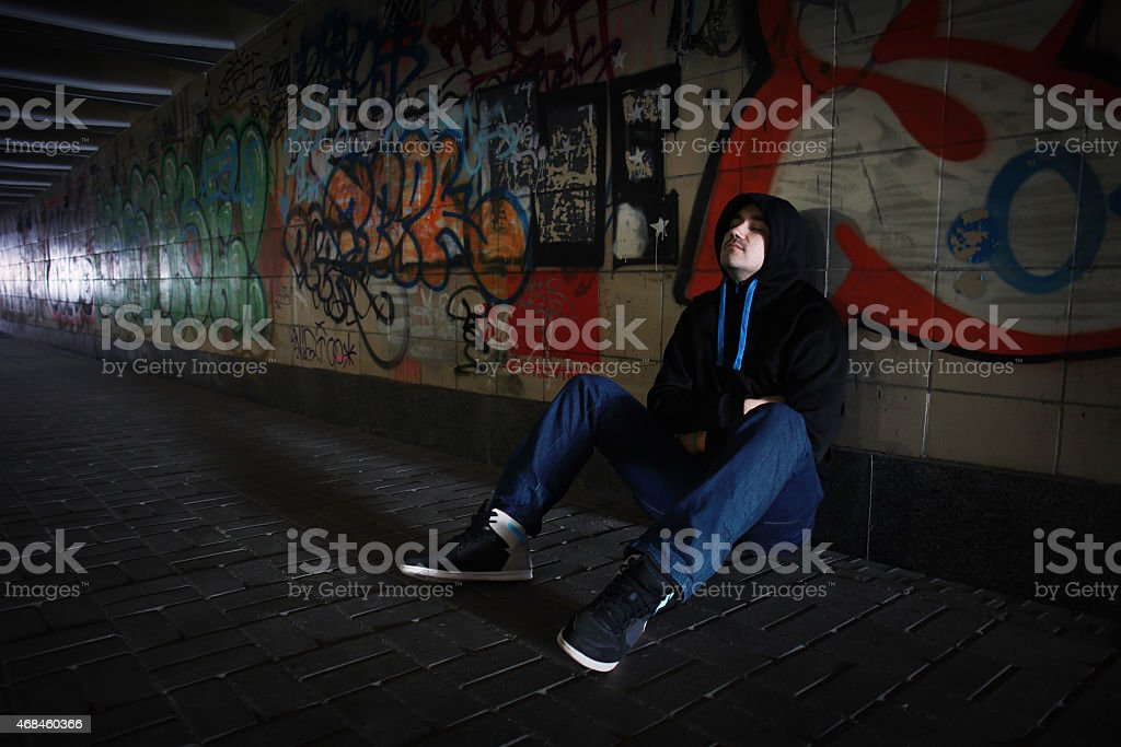 Loneliness stock photo