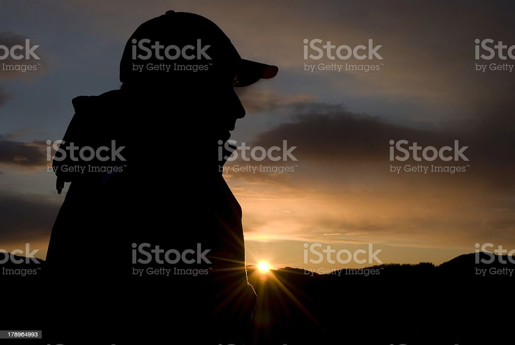 Lonely and depressed! royalty-free stock photo