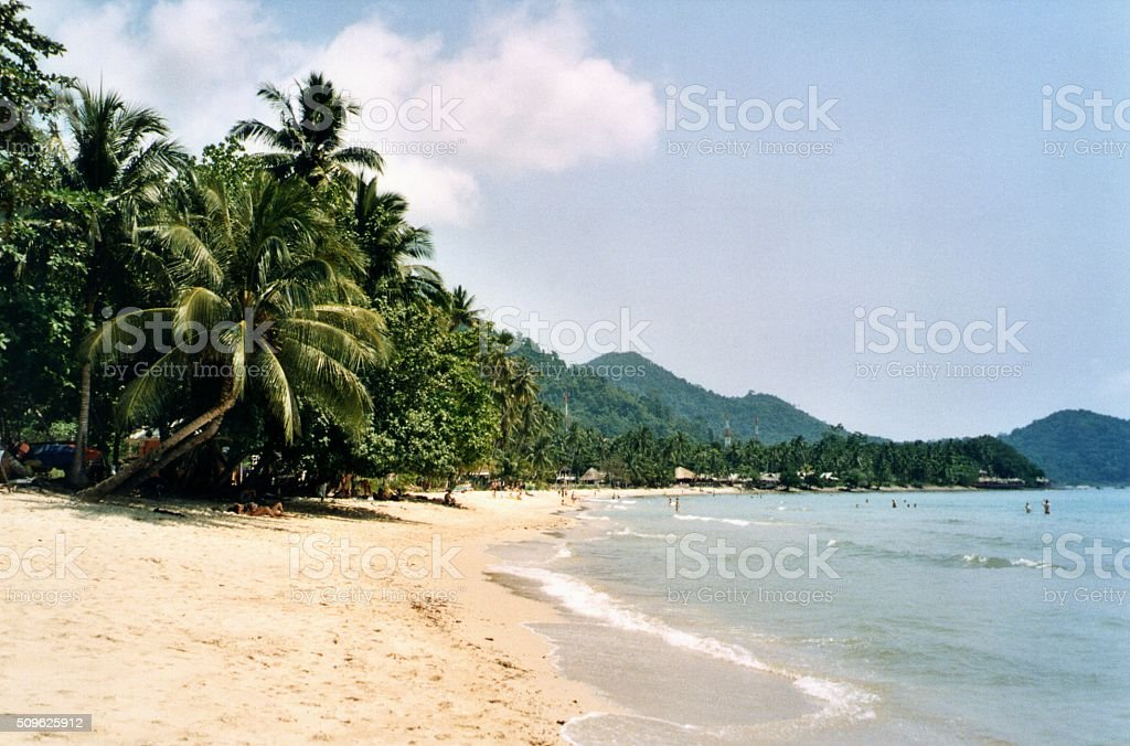 Lonely Beach, Koh Chang - Thailand stock photo