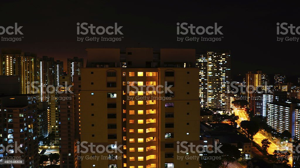 Lonely Building royalty-free stock photo