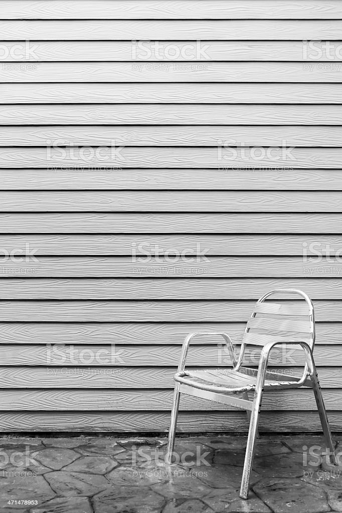 Lonely chair royalty-free stock photo
