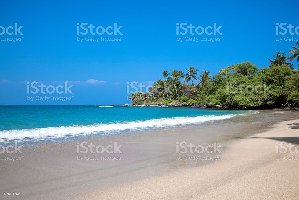 lonely dream beach royalty-free stock photo