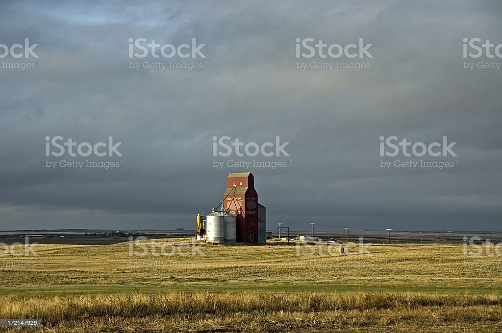 Lonely Elevator royalty-free stock photo