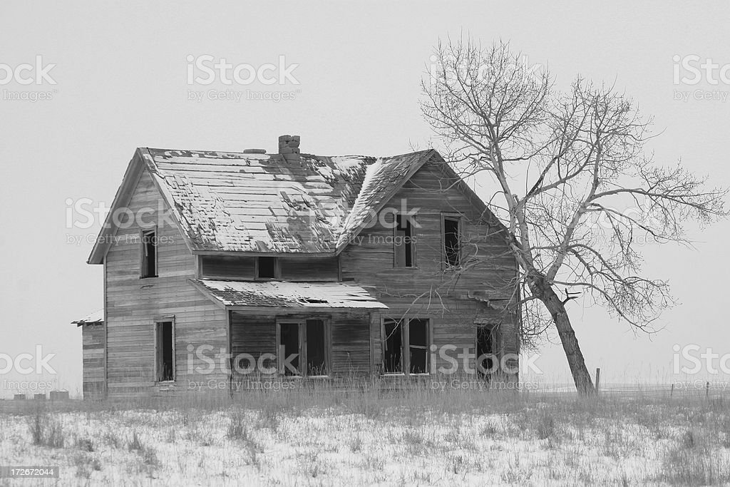 Lonely Home royalty-free stock photo