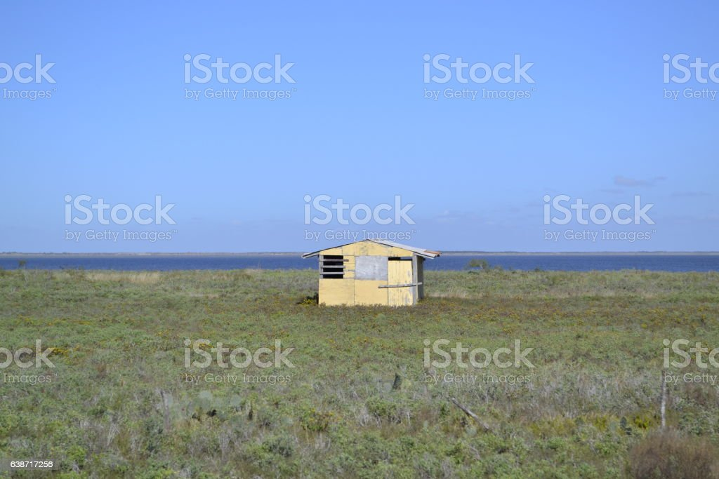 Casa Solitaria/Lonely House stock photo