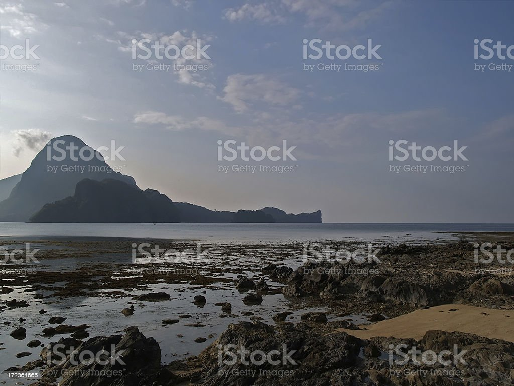 Lonely isles royalty-free stock photo