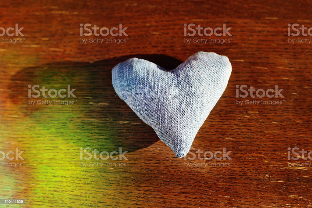 lonely love heart royalty-free stock photo