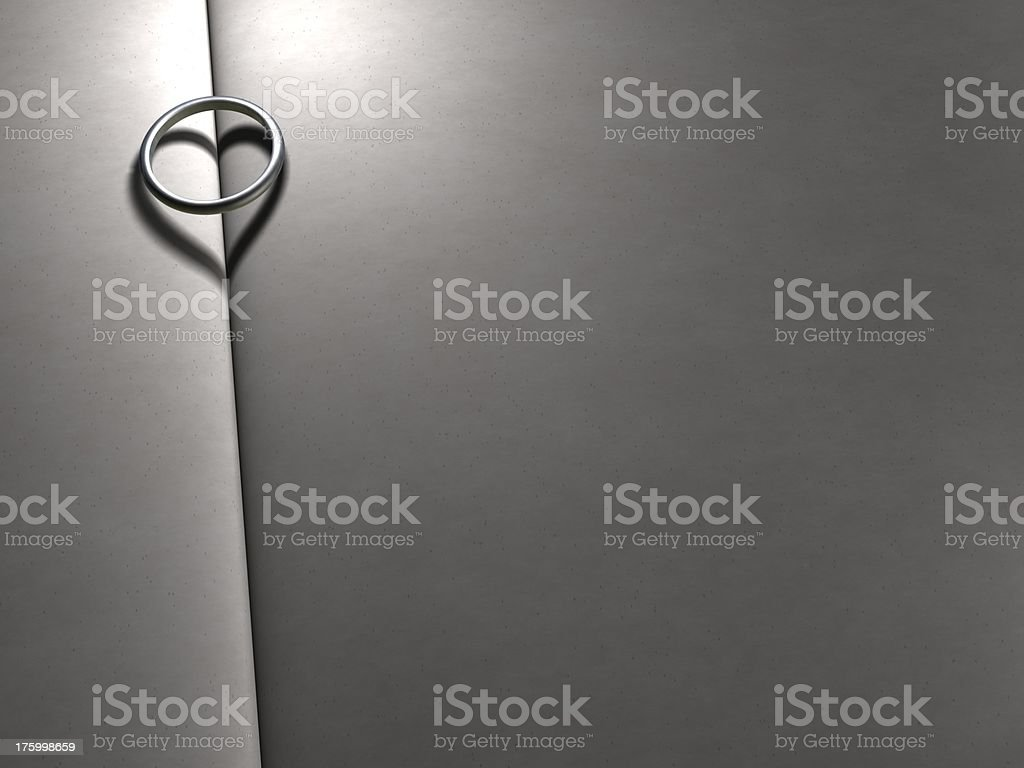 Lonely love in the night without you royalty-free stock photo
