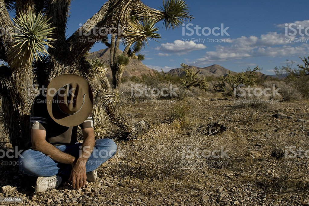 Lonely Mexican stock photo