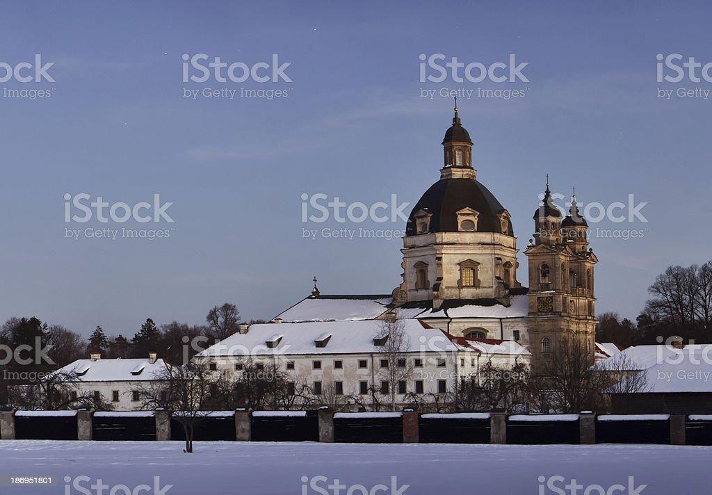 Lonely monastery royalty-free stock photo