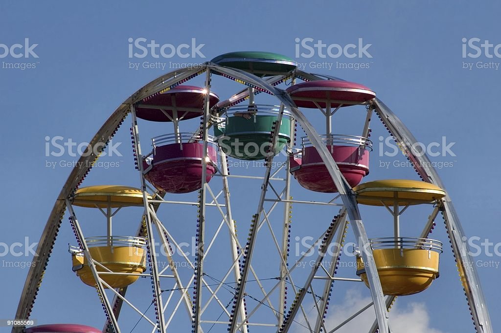 Lonely Ride royalty-free stock photo