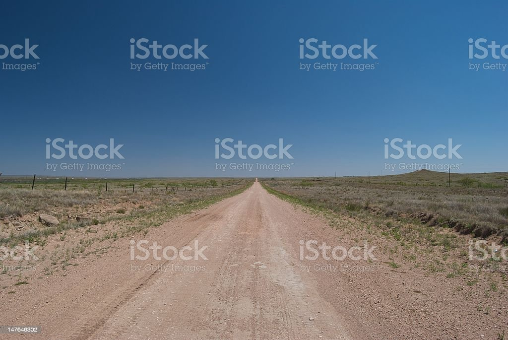 Lonely Route 66 royalty-free stock photo