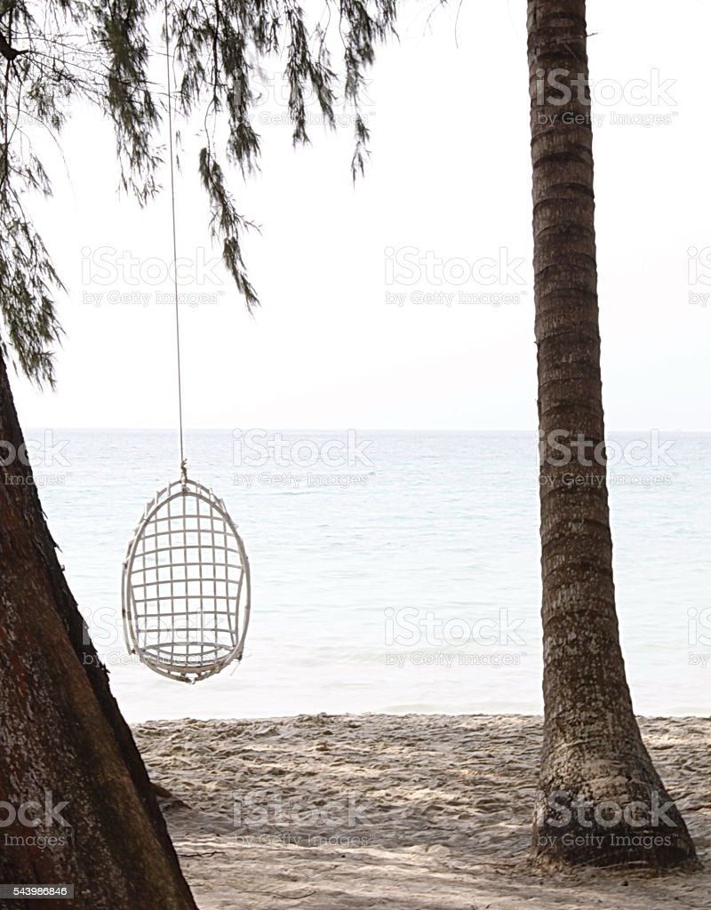 Lonely sea stock photo