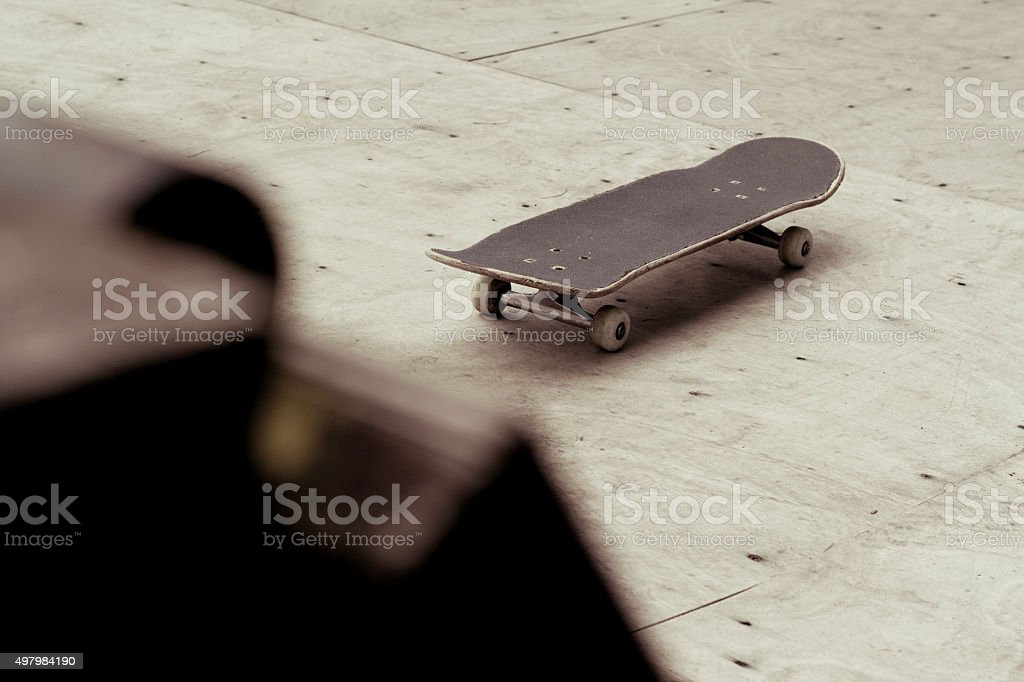 Lonely Skate stock photo
