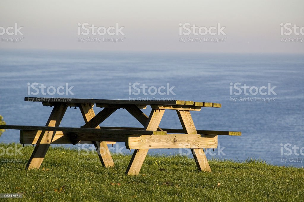 Lonely Table royalty-free stock photo