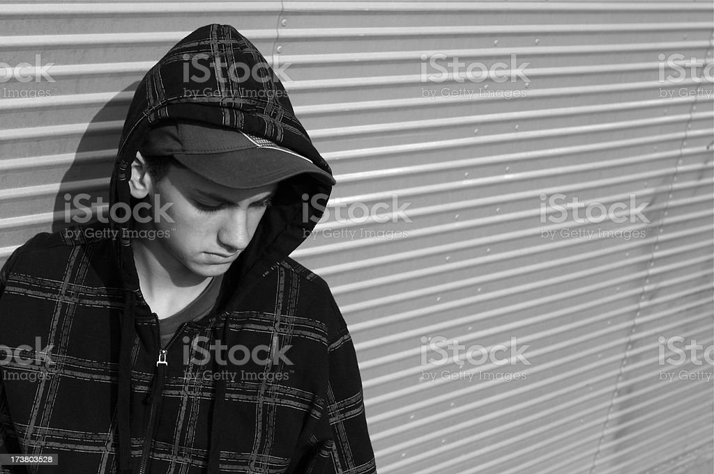 Lonely Teen royalty-free stock photo