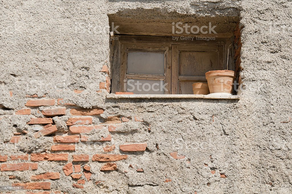 Lonely Window royalty-free stock photo