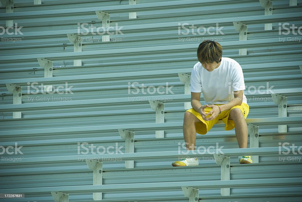 Loner royalty-free stock photo