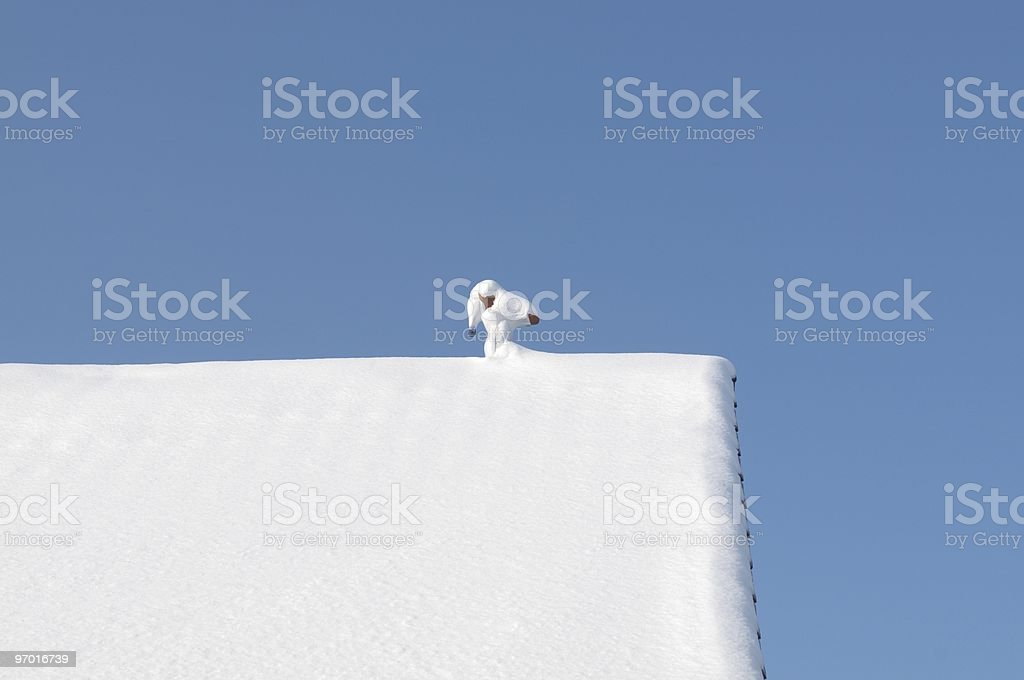 Loner royalty-free stock photo