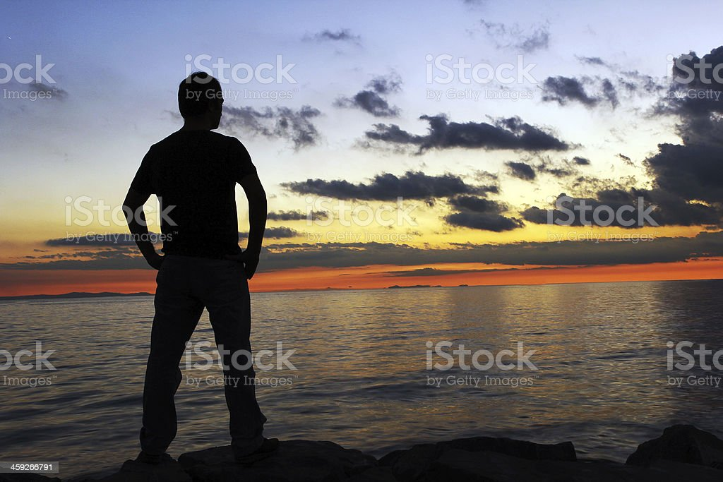 Lonesome royalty-free stock photo