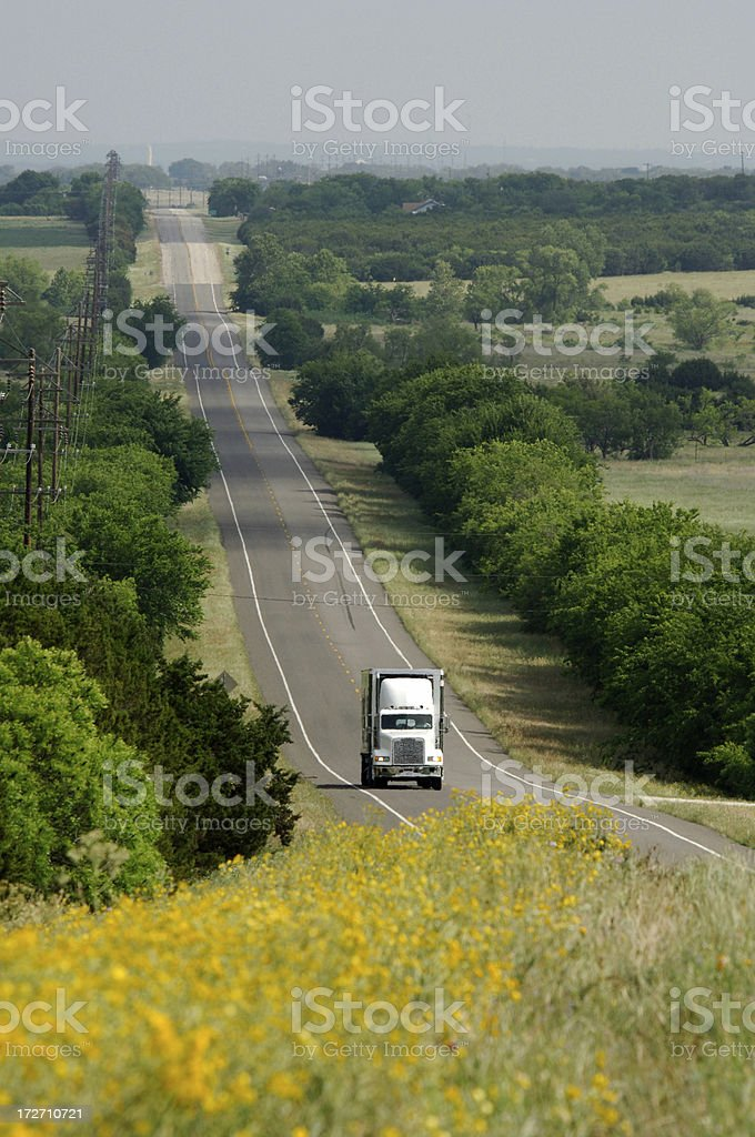 Lonesome Road royalty-free stock photo