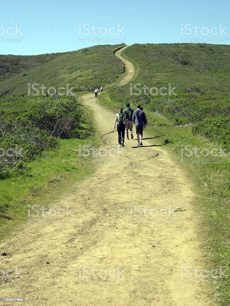 Long and winding road... royalty-free stock photo