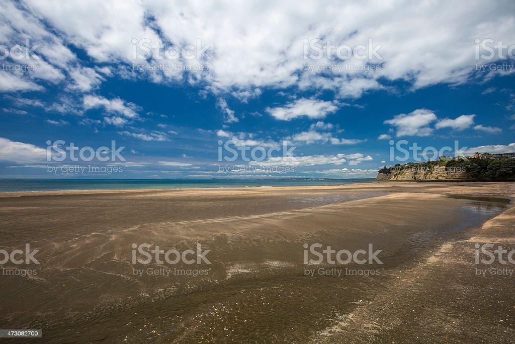 Long Bay Beach stock photo