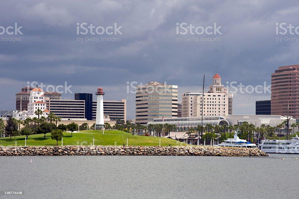 Long Beach, California royalty-free stock photo
