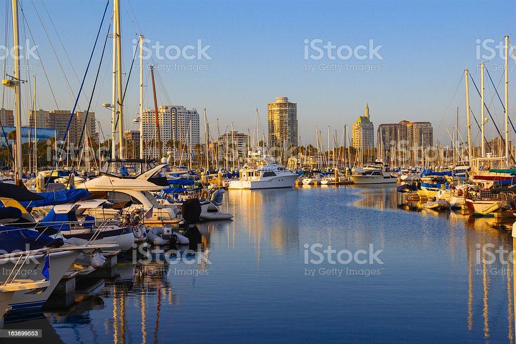 Long Beach, California (P) royalty-free stock photo